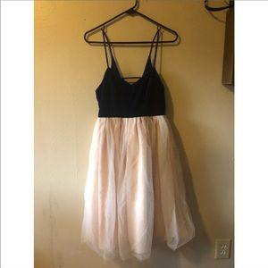 LC Lauren Conrad Runway Velvet and Tulle Dress